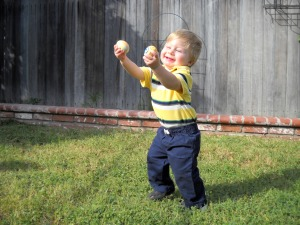 Happy Easter! My nephew Garrett, sheer delight!